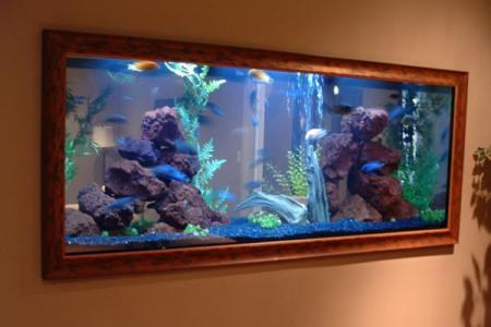 необычный и компактный аквариум